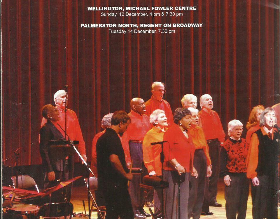 Back page of souvenir programme